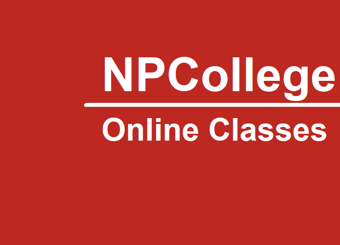 NPCOLLEGE Blended Curriculum Delivery
